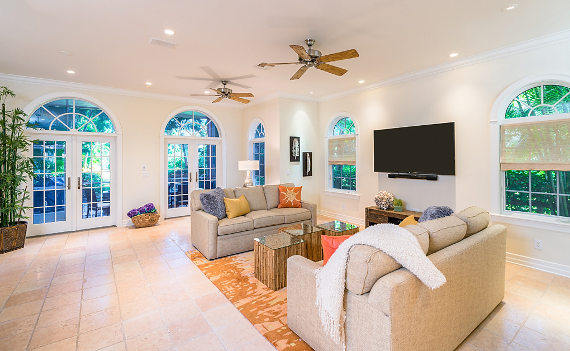 Equity Residences Captiva Island great room