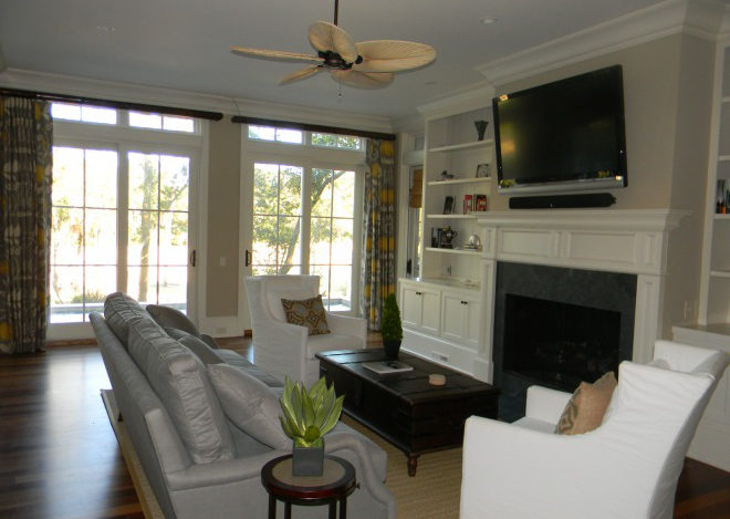 Equity Estates Kiawah living room