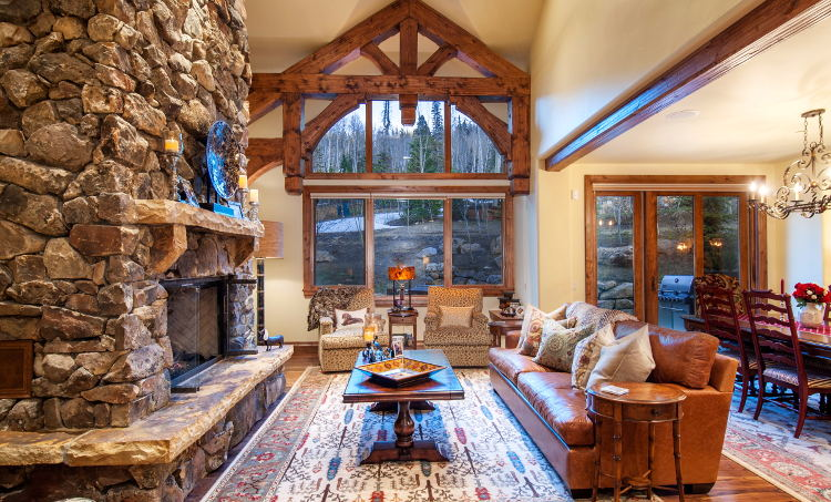 Exclusive Resorts Deer Valley Great Room