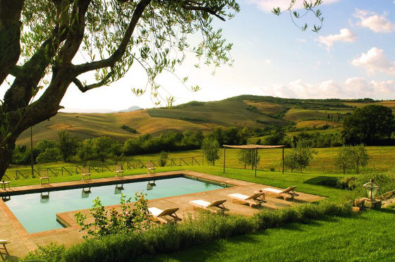 Portico Amato Tuscany pool