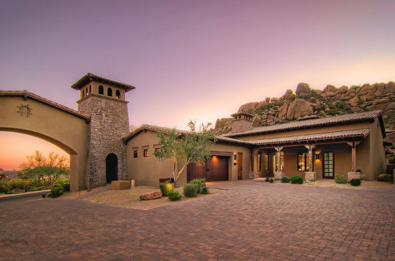 Portico Scottsdale residence