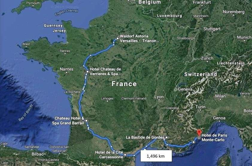 Rocksure France super car route