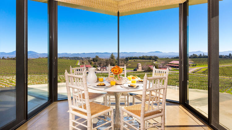 Inspirato Sonoma California home