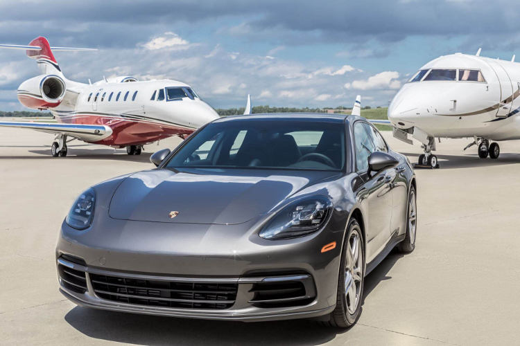 Delta Private Jets and Porsche
