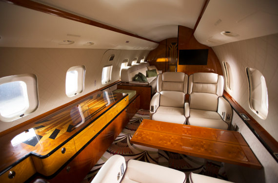 Flexjet Interior Cabin