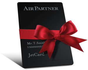 Holiday JetCard with Bow
