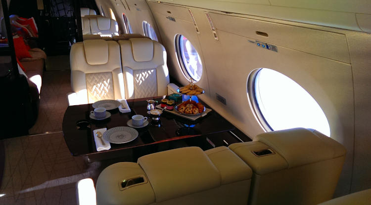 On-board gulfstream