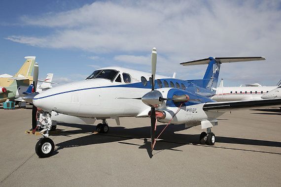 King Air at NBAA